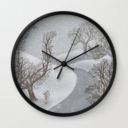 The Night Gardener - Winter Park Wall Clock