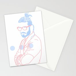 Blue Beard, 2014. Stationery Cards