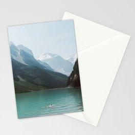 Lake Louise Swim Stationery Cards