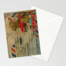 Via Air Mail Stationery Cards