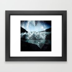 glacier bay Framed Art Print