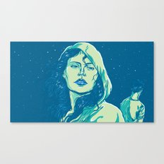 When The Night Comes Canvas Print