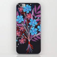 Night Bouquet iPhone & iPod Skin
