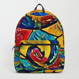 Eye in art Backpack