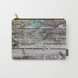 Planks and leaves Carry-All Pouch
