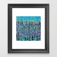 :: Blue Raspberry Martini :: Framed Art Print