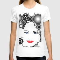lady T-shirts featuring Lady  by Kenneth