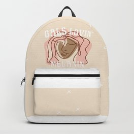 melanin gals Backpack