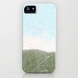 Mist Hills iPhone Case