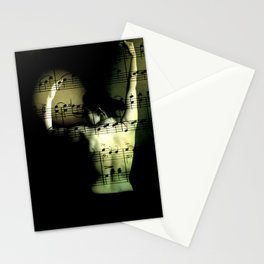 eroticism of music Stationery Cards