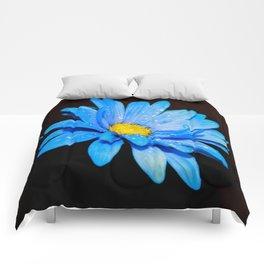 Blue Daisy Comforters