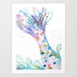 Undersea Secret Art Print
