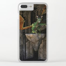 Dragon's Den Clear iPhone Case