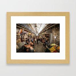 Shuk Story-Part 2 Framed Art Print