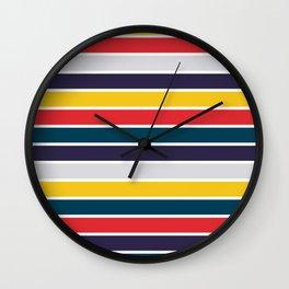 Intense Colors Wall Clock