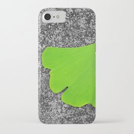ginkgo leaf I iPhone Case