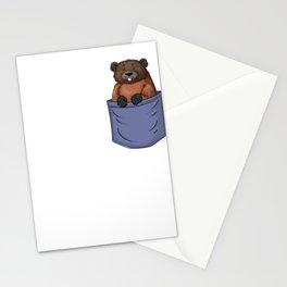 Nutria Chest Pocket Rodent Nutria Coypu Myocastor Stationery Cards