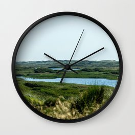 Nymindegab Lakes Landscape Denmark 2 Wall Clock