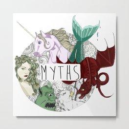 Myths Metal Print