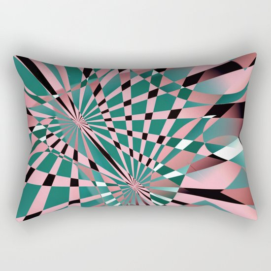 lost in reflections Rectangular Pillow