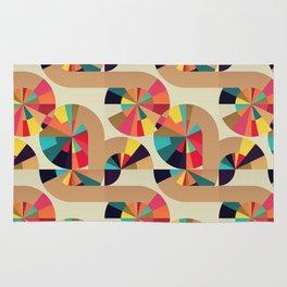 Kaleidoscope Pattern Rug