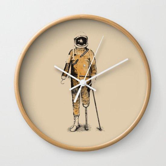 Astropirate (Watercolors) Wall Clock