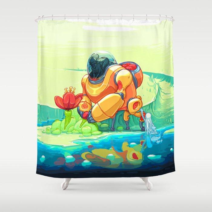 Harvest Shower Curtain By Dlanham