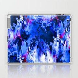 Marshmellow Skies (midnight blue) Laptop & iPad Skin