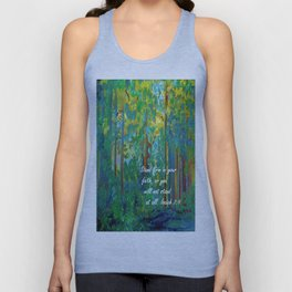 Stand Firm in Your Faith Unisex Tank Top