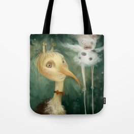 Private party in the forest Tote Bag