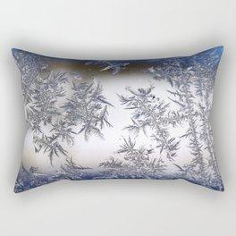 Frost Covered Glass Rectangular Pillow