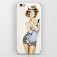 ruby iPhone & iPod Skins featuring Ruby by Rita Acapulco