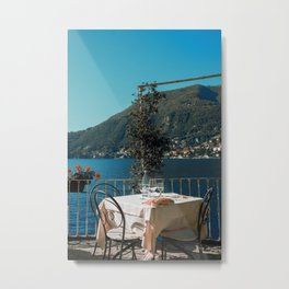 Lunch on the lake Metal Print