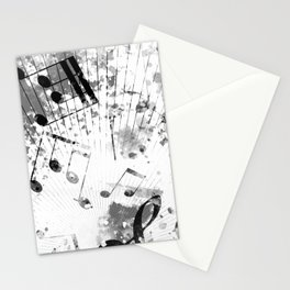 Musical Atmosphere Stationery Cards