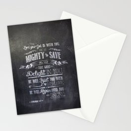 mighty to save Stationery Cards
