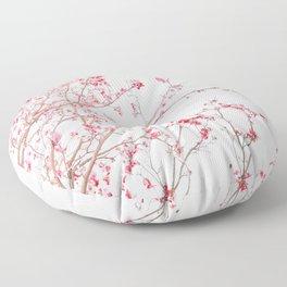 Pink Magnolias Floor Pillow
