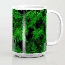 Deep Forest Ferns Coffee Mug