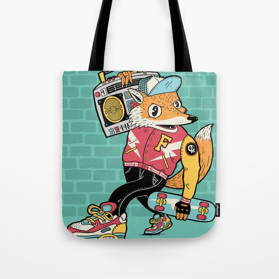 Thunder Foxes Crew Tote Bag