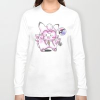 fairy tail Long Sleeve T-shirts featuring Not Just Another Fairy Tail by Randy C