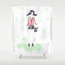 Summer Marinette Shower Curtain