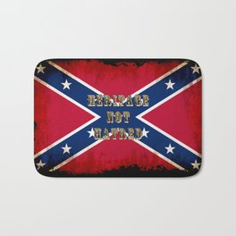 Heritage, not Hatred - US Southern Cross Flag Bath Mat