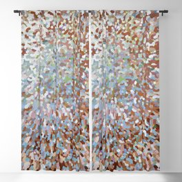 A New Day in Living Coral Juul Blackout Curtain