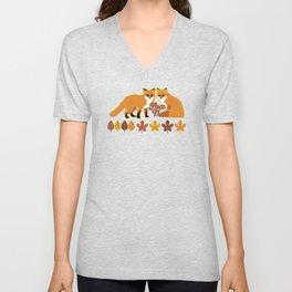 Fox Trot Unisex V-Neck