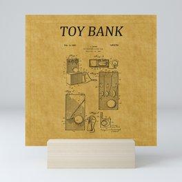Toy Bank Patent 17 Mini Art Print