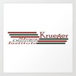 Krueger Sleep Disorders Institute Art Print