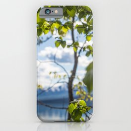 Leave(s) Me Be iPhone Case