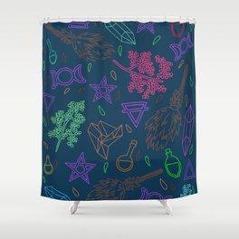 I'll curse you #4 Shower Curtain