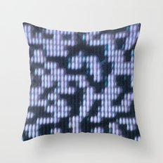 Painted Attenuation 1.2.2 Throw Pillow