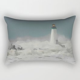 SANTA CRUZ LIGHT HOUSE 011 Rectangular Pillow