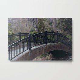 Iron Bridge - Ashland, OR Metal Print